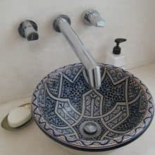 kerámia mosdótál